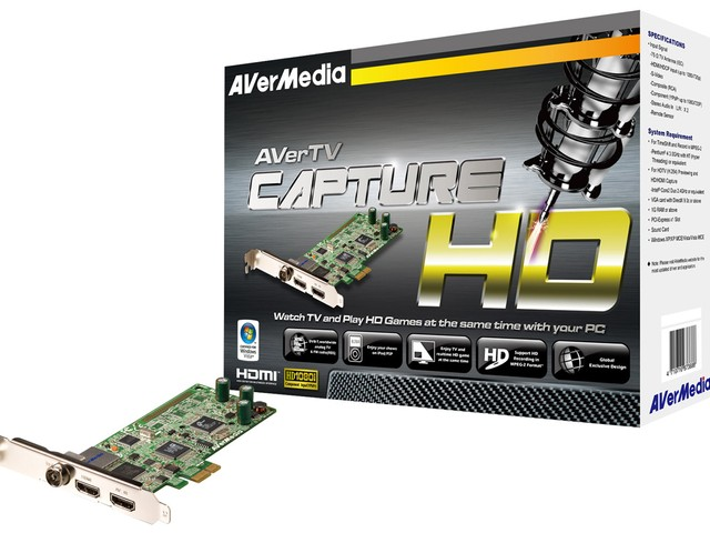 AVerMedia「Capture HD」Card