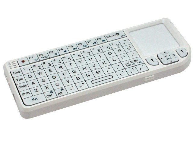 promini keyboard white