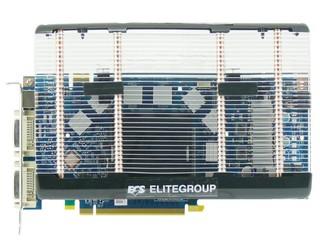 採用Arctic Cooling S1散熱器 ECS GeForce 8800GT靜音版本