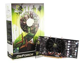 採用Zalman VF-830 散熱器 XFX GeForce 9600GT Zalman H