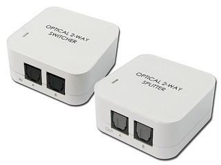 光纖音效切換或同步輸出 CYP DT-21及DT-12光纖音效輸出器