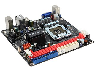 Intel+NVIDIA+Mini-ITX ZOTAC nForce 610i-ITX主機板