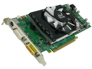 搭配Accelero L1散熱器 Inno3D Geforce 9800GT