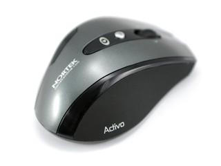 採用「Nano」接收器技術 NORTEK Activo WL Nano無線滑鼠