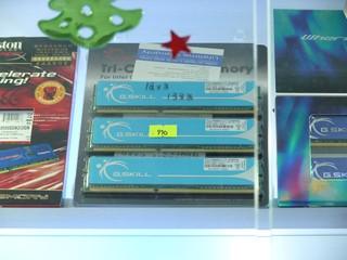DDR3 1333MHz 3GBKit只售$999 G.Skill PC 10666 DDR3記憶體