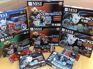 MSI繪圖卡大軍再度襲港 各款GeForce、Radeon產品已有售