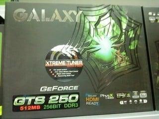 原定3月10日才正式開賣 Galaxy GF GTS250偷步發售!?