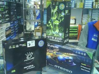 GeForce GTS 250 正式開賣 多款512MB、1GB版本均已有售