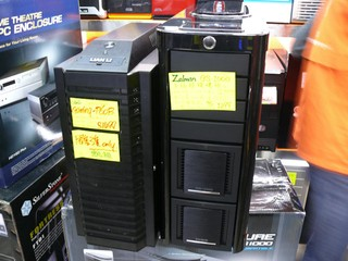 兩款針對高階玩家的機箱 Zalman GS-1000、Lian Li P60B