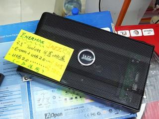 全鋁質材 3.5 吋硬碟盒 Enermax JAZZ 外置硬碟盒售 $305
