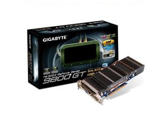 採用Silent-Cell靜音散熱技術 GIGABYTE  GV-N98TSL-1GI繪圖卡