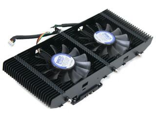 雙風扇增強散熱能力 PC Cooler 愛琴海加強版繪圖卡散熱器