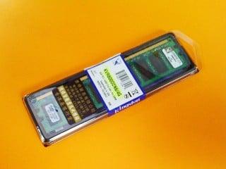 超大容量一條過記憶體到貨 Kingston 4GB DDR2 記憶體售 $9XX