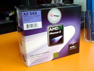 針對主流級市場 售港幣$710 AMD Phenom II X2 545處理器