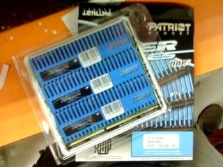 高效能3通道DDR3記憶體模組 Patriot VIPER系列DDR3-2000