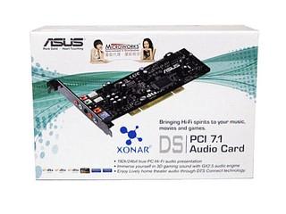 體驗更逼真的遊戲音效 ASUS XONAR DS 7.1 PCI音效卡