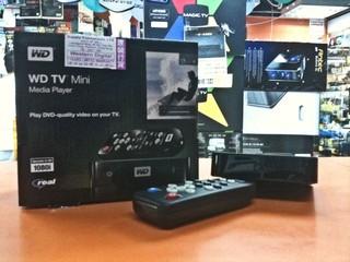 體積小巧、支援RMVB格式 WD TV Mini播放器有售