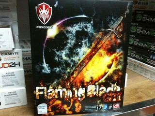 「平民」X58主機板到貨 Foxconn Flaming Blade GTI