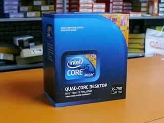 新一代Core i5處理器到貨 Intel Core i5-750率先有售