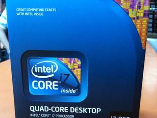 Socket 1156 Core i7處理器到貨 Intel Core i7-860腦場即日有售