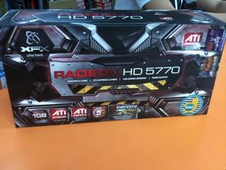 Radeon HD 5770開賣後引來搶購 目前僅餘XFX提供現貨發售