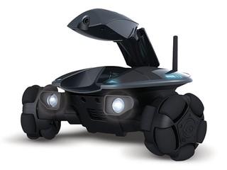 透過IPhone、MID裝置遙距移動監察 ROVIO無線網絡機械甲蟲車IP Cam
