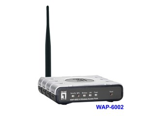 提供8組可隱藏SSID  LevelOne  最新 WAP-6002