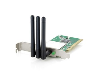 LevelOne旗下2T3R路由器配搭之選 Wireless N_Max WNC-0610 PCI Card