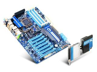 7組PCI-E接口達成4繪圖卡架構 GIGABYTE全新X58A-UD9主機板