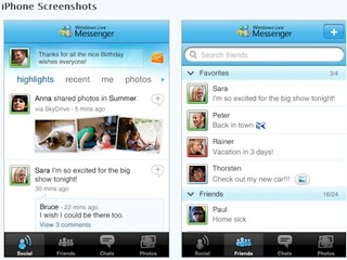 iPhone用家也可使用官方版 MSN Apple版本MSN正式可供免費下載