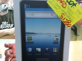 「山寨版」iPad售$1280 iRobot APad已於腦場有售