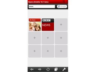效能強化 整合地理定位功能 S60版 Opera Mobile 10.1 Beta 釋出