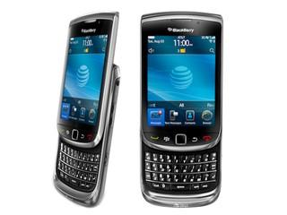 首款採用 BlackBerry 6操作系統 Torch 9800 BlackBerry智能手機