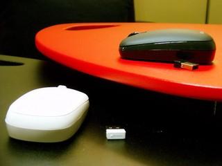 採用Blue Trace Mouse技術 Choiix CRUISER 2.4GHz 無線滑鼠