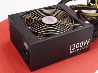 「沉默是金」高輸出電源器 Cooler Master Silent Pro Gold 1200W