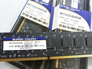 為組裝高容量記憶體平台而設 Capital引入三款4GB記憶體模組