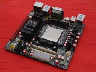 問鼎最強 AM3 ITX 平台 J&W MINIX 890GX-USB3