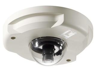 支援1080p解像度、H.264 影像壓縮 LevelOne IP Mini Dome Cam FCS-3071
