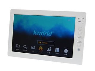 支援720p及1080影像播放 Kworld 8吋流動播放器PMP880