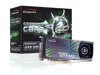 率先發佈超頻版GF GTX580 Colorful 580-1536M D5 CH繪圖卡