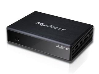 支援1080P高畫質影片、BT下載 MyGica MP833多媒體播放器