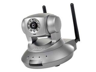 300Mbps無線傳輸、支援夜視功能 Edimax IC-7010PTn 網絡監控攝影機