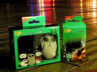 AA充電器 + 電子暖手器 GP Hand Warmer USB版本