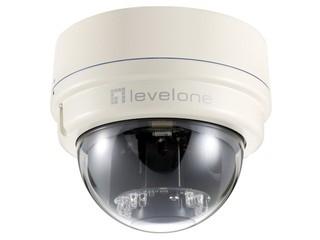 專業級日夜監控、支援1080P解像度 LevelOne FCS-3081 IP Mini Dome Cam