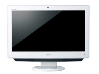 內建APU E350處理器、簡潔東瀛風味 Fujits ESPRIMO EH300  All-in-One PC