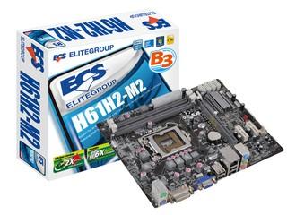 ECS 多款入門級平台優惠發售 H61H2-M2售價低至港幣$398