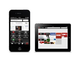 壓縮網頁數據流量達90% iPhone、iPad專屬Opera Mini 6