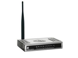 10,000 連線數、遙控電腦開關 LevelOne WBR-6003v2路由器