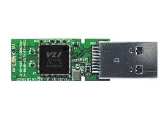 採用四通道及交錯技術設計 VIA VL751 USB 3.0 NAND 控制晶片