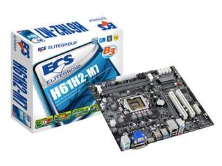 加入USB 3.0、SATA3.0 ECS H61H2-M7主機板